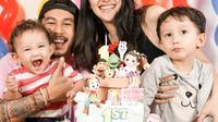 Momen Hangat Ulang Tahun Anak Kedua Fandy Christian dan Dahlia Poland. (Sumber: Instagram.com/dahliachr)