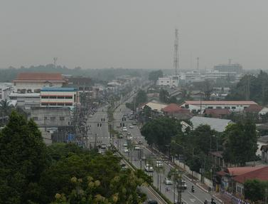 Kabut Asap Karhutla Indonesia Mulai Selimuti Thailand Selatan