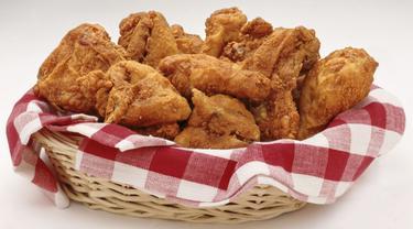 Percuma, Mau Turun Berat Badan Cuma Makan Sepotong Ayam Goreng