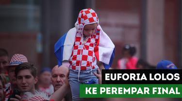 Berita Video Lolos ke Perempat Final Piala Dunia 2018, Inilah Euforia 4 Negara
