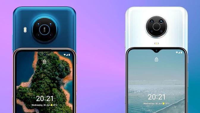 Nokia X20 dan Nokia X10 resmi diumumkan. (Doc: HMD Global)