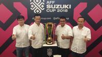 Suzuki Indonesia ikut ramaikan AFF Suzuki 2018. (Septian/Liputan6.com)
