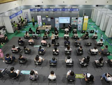 FOTO: Melihat Pusat Vaksinasi Virus Corona COVID-19 di Seoul