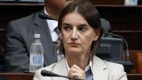 Perdana Menteri Serbia, Ana Brnabic. (AP)