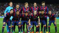 Ilustrasi Team Barcelona pada Leg kedua di semi final Liga Champions 2015