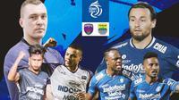 BRI Liga 1 - Duel Antarlini - Persita Tangerang Vs Persib Bandung (Bola.com/Adreanus Titus)
