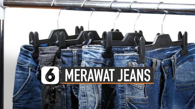 Hal ini supaya menjaga agar jeans tidak mudah rusak atau pudar.