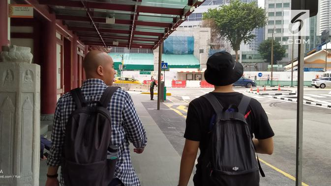 Hasil foto Realme 5 saat di luar ruangan. (Liputan6.com/ Yuslianson)