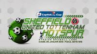 Sheffield United vs Tottenham Hotspur (Liputan6.com/Sangaji)