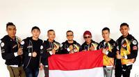 Para atlet binaraga Perbafi yang pesta medali di Kejuaraan Asia (Perbafi)