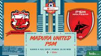 Shopee Liga 1 - Madura United Vs PSM Makassar (Bola.com/Adreanus Titus)