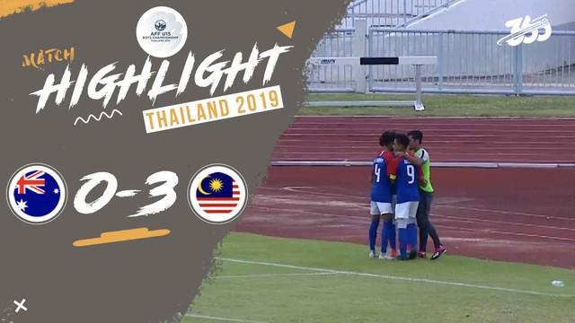 Berita video highlight Grup B Piala AFF U-15 2019, Malaysia mengalahkan Australia 3-0, Kamis (1/8/2019).