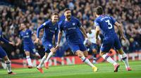 Striker Chelsea, Olivier Giroud (@chelseafc)