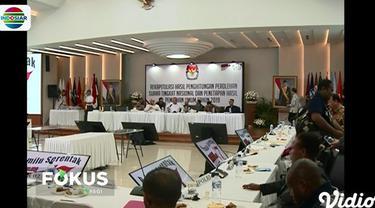 Berdasar hasil rekapitulasi, pasangan Jokowi-Ma'ruf Amin memperoleh 55,50 persen suara. Sedangkan pasangan Prabowo-Sandi memperoleh 44,50 persen suara.