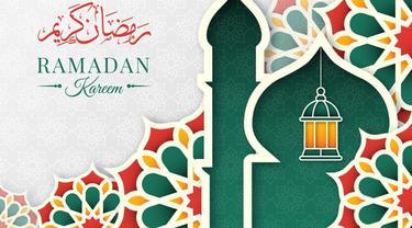 Ilustrasi kata-kata ucapan, Ramadan 2021