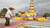 Pura Agung Jagatnatha Wana Kertha jadi pura yang megah dan terbesar di Indonesia bagian timur.