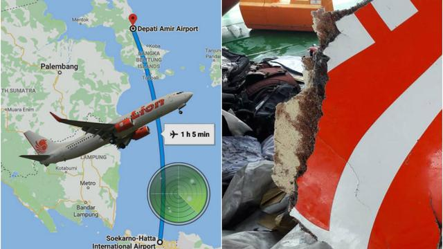 Image result for pesawat lion air jt 610 jatuh