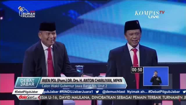 Cawagub Jawa Barat menawarkan program Molotot.com untuk memberantas korupsi di Jawa Barat.`