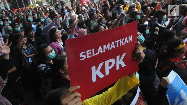 Demo Tolak Capim KPK Bermasalah