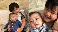Potret Gemas Kedekatan Rafathar dan Zayn, Bak Saudara Kandung. (Sumber: Instagram/raffinagita1717)