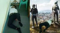 Netizen Ini Minta Foto Orang Tidur Diedit, 5 Hasilnya Bikin Ketawa (sumber: Twitter.com/WSetyorini2)