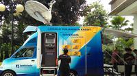 Peluncuran mobil layanan keliling Jamkrindo di Jakarta ini menjadi proyek percontohan.