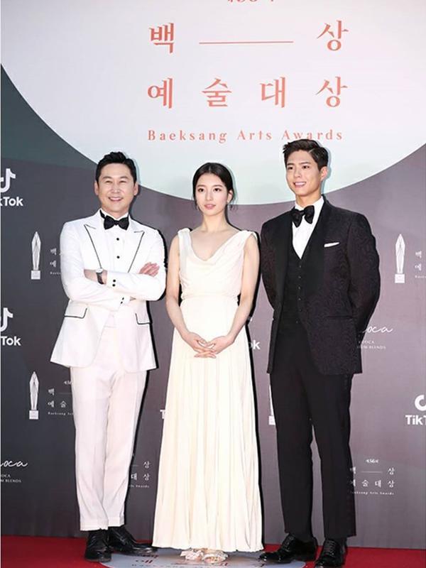 Busana Serba Branded Para Aktris Drama Korea di Baeksang Arts Awards 2020