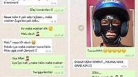 masker wajah (foto: facebook Alfin Kharisma)