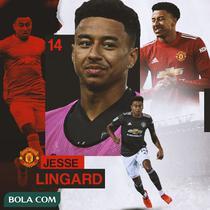 Manchester United - Jesse Lingard (Bola.com/Adreanus Titus)