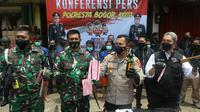 Enam anggota dari salah satu ormas ditangkap karena diduga hendak membuat kekacauan di Kota Bogor, Jawa Barat.