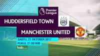 Premier League 2017-2018 Huddersfield Town Vs Manchester United (Bola.com/Adreanus Titus)