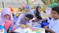 Pemkot Tangerang mendukung dibuatnya kampung anak di tiap  wilayah RW dan Kelurahan. (Liputan6.com/Pramita Tristiawati)