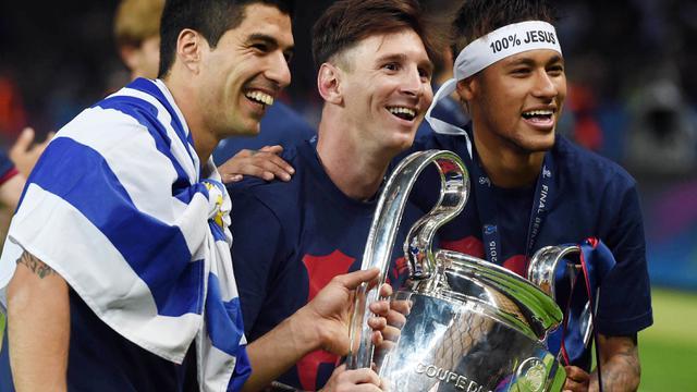 Barcelona, Neyrmar Jr, Paris Saint-Germain, Trio MSN