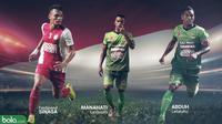 Trivia 3 Pemain yang Terlupakan dari Timnas Indonesia: Ferdinand Sinaga, Manahati Lestusen, dan Abduh Lestaluhu (Bola.com/Adreanus Titus)
