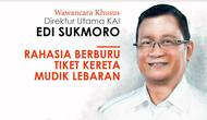 Direktur Utama PT KAI Edi Sukmoro (Liputan6.com/Trie Yasni)