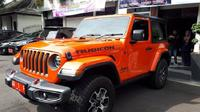 Penampakan Jeep Wrangler Rubicon kendaraan dinas Bupati Karanganyar. (Solopos/ Sri Sumi Handayani)