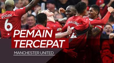 Berita video pemain-pemain yang masuk dalam daftar tercepat dalam berlari saat berlaga di skuat Manchester United. Siapa sajakah?
