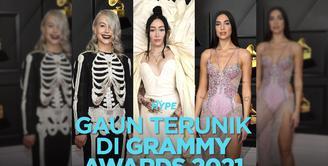 5 Gaun Terunik di Grammy Awards 2021