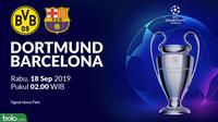 Liga Champions - Borussia Dortmund Vs Barcelona (Bola.com/Adreanus Titus)