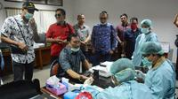 Anggota DPRD Bali menjalani rapid test