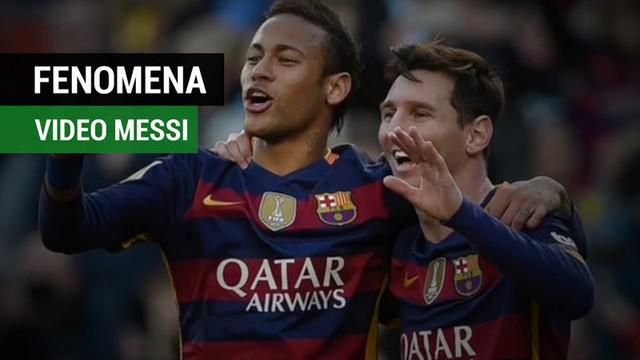 Berita video fenomena video Lionel Messi di media sosial Instagram soal Neymar hengkang dari Barcelona. Seperti apa video yang diunggah?