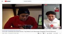Penyerang muda Ajax Amsterdam blasteran Belanda-Indonesia, Noah Gesser. (Tangkapan layar YouTube Yussa Nugraha).