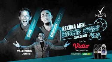 Berita Video Gunawan Dwi Cahyo Kembali Incar Kemenangan Saat Lawan Irfan Bachdim di Rexona Men Soccer Stars Challenge Sore Ini