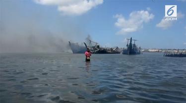 Polda Bali melakukan identifikasi 21 kapal yang terbakar di pelabuhan Benoa. Selain itu, belasan saksi ikut diperiksa.