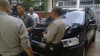 mobil yang ditabrak Toyota Alphard di Jl Senopati