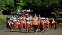 Kunjungan warga di Istana Bogor (Liputan6.com/Achmad Sudarno)