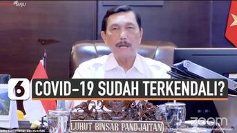 VIDEO: Menko Luhut Paparkan Capaian Indonesia dalam Pengendalian Covid-19
