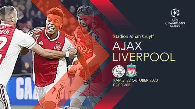 Segera Bertanding Ini Link Live Streaming Ajax Vs Liverpool Di Liga Champions Bola Liputan6 Com