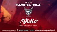 MPL Season 5 Umumkan Babak Playoff dan Final Dilakukan Secara Online. sumberfoto: Vidio