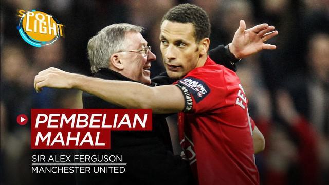 Berita video spotlight kali ini membahas tentang deretan pembelian mahal Sir Alex Ferguson selama menangani Manchester United.